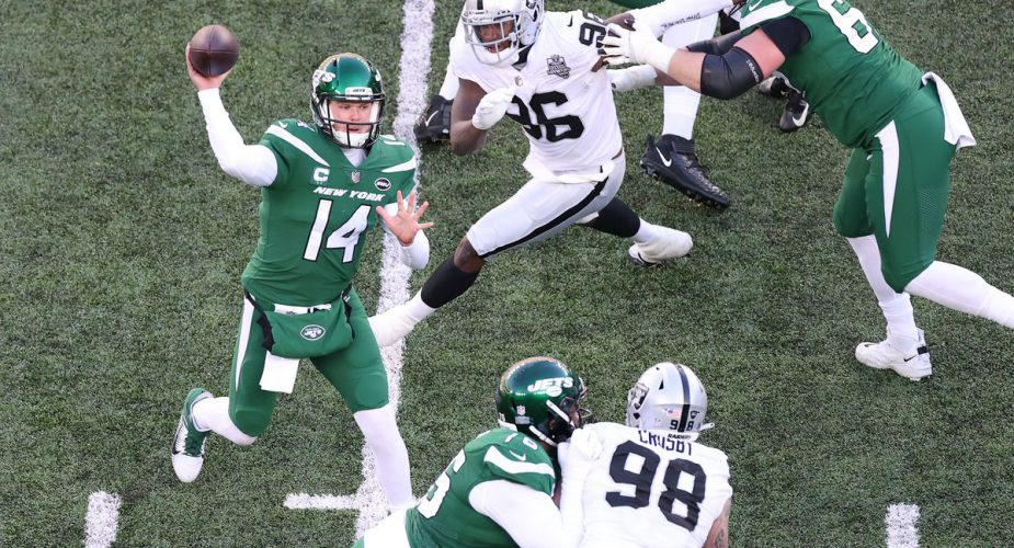 Raiders @ Jets Week 13 Game Recap: Darnold's Roller Coaster Day; 3 TDs, 3 Turnovers and a Loss