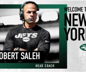 Jets Formally Announce Saleh