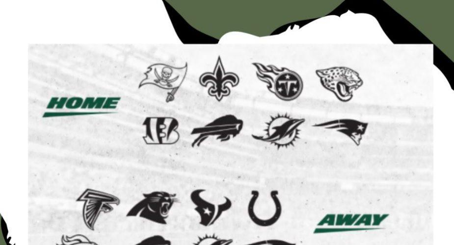 Jets 2021 Opponents Set
