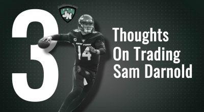 Thoughts On Trading Sam Darnold