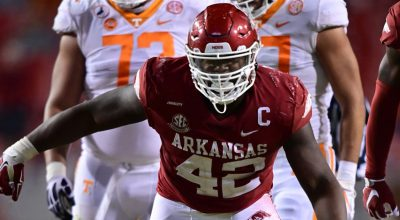 Jets Close out Draft With Arkansas Defensive Tackle Jonathan Marshall