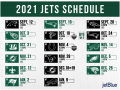 NY Jets Schedule Released