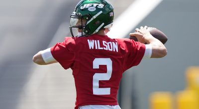 Up and Down day for Zach Wilson at Jets Camp as Defense Dominates