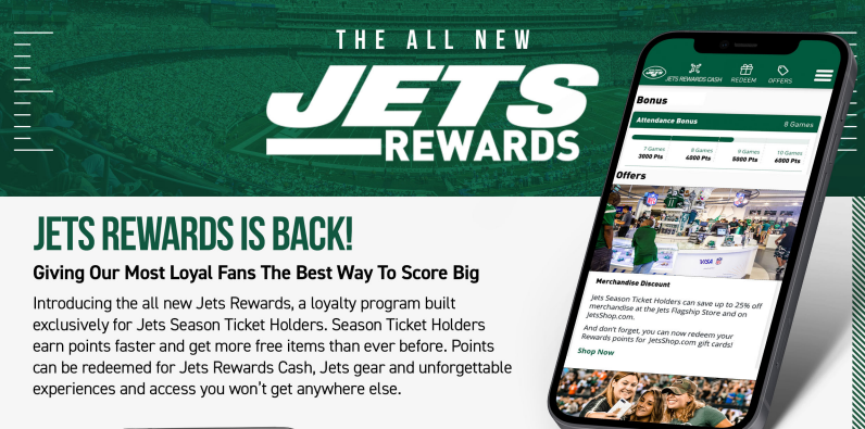 New Jets Rewards Program